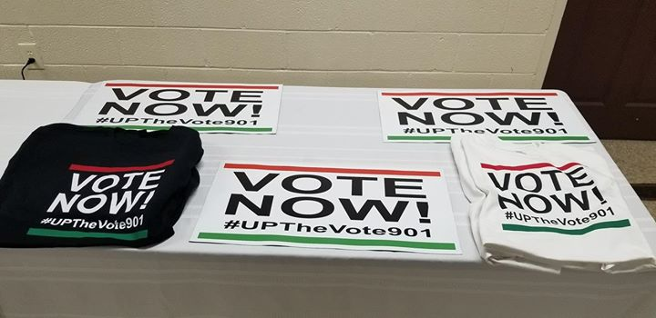 Join UPTheVote901 tomorrow between 12pm-4pm for our ElectionDay901 rotating